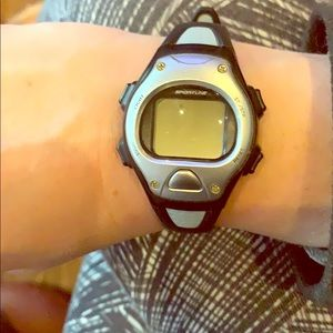 Accessories - Sportline Fitness watch/grey- black